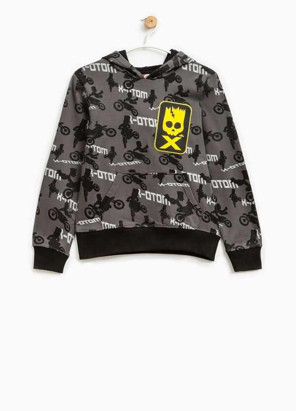 Sweatshirt with all-over The Simpsons print   OVS