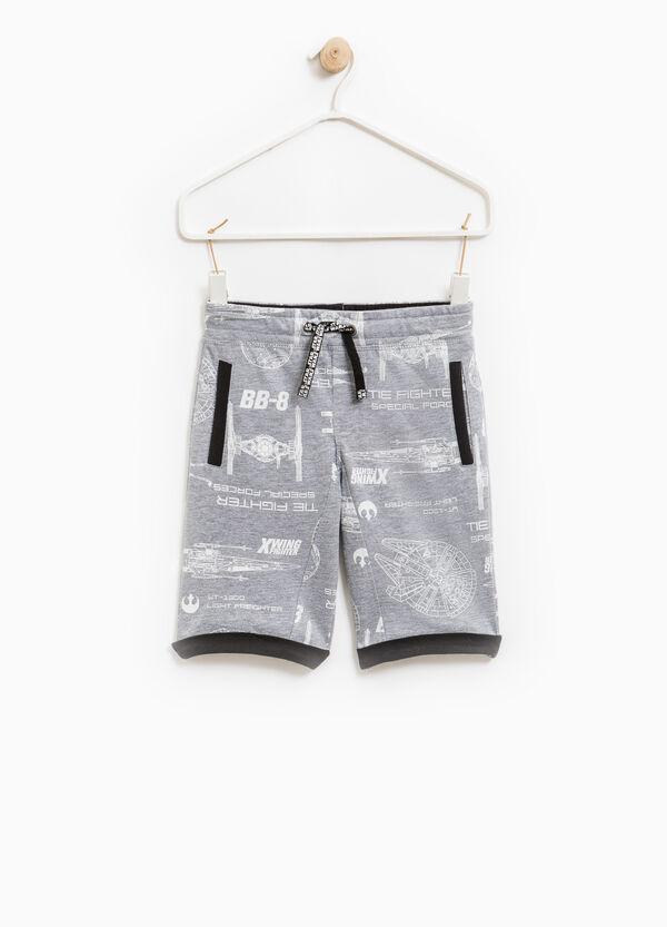 Bermuda shorts with Star Wars drawstring | OVS