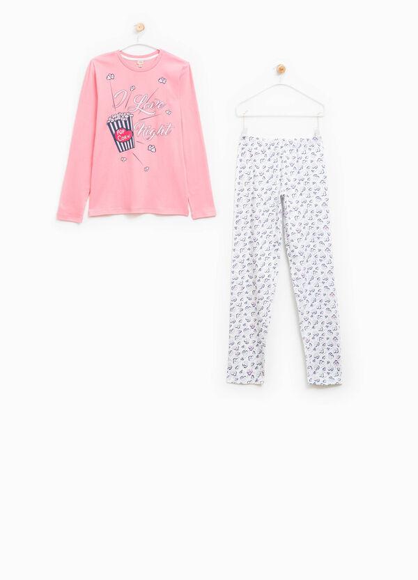 Cotton pyjamas with print and pattern | OVS