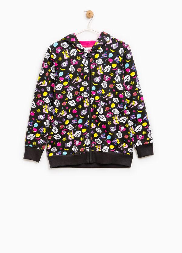 My Little Pony print cotton hoodie | OVS