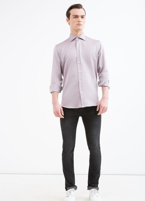 Patterned cotton regular-fit shirt | OVS