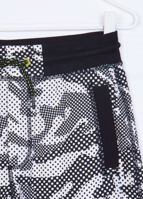 Shorts in 100% printed cotton | OVS