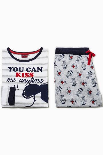 Cotton pyjamas with Snoopy pattern