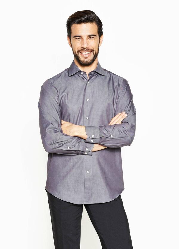 Camicia formale regular fit puro cotone   OVS