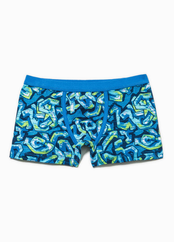 Patterned stretch boxers | OVS