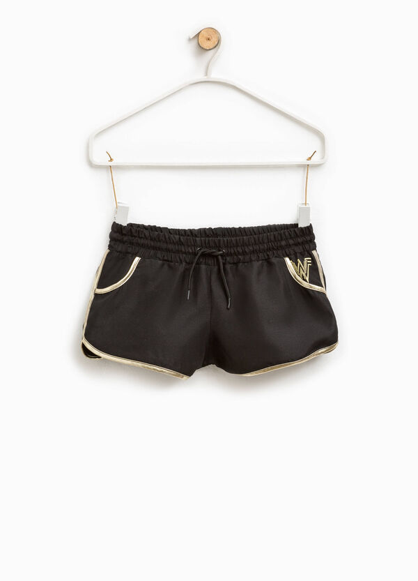 Shorts with Wonder Woman embroidery | OVS