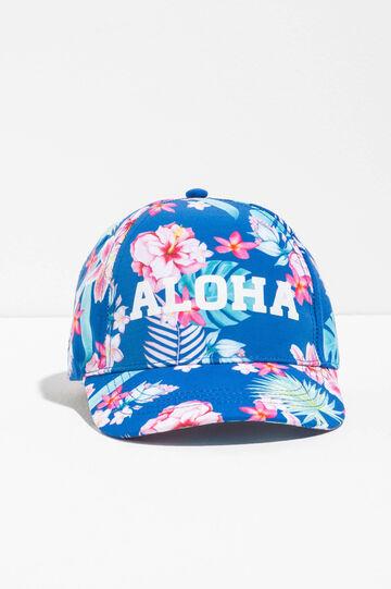 Cappello da baseball floreale