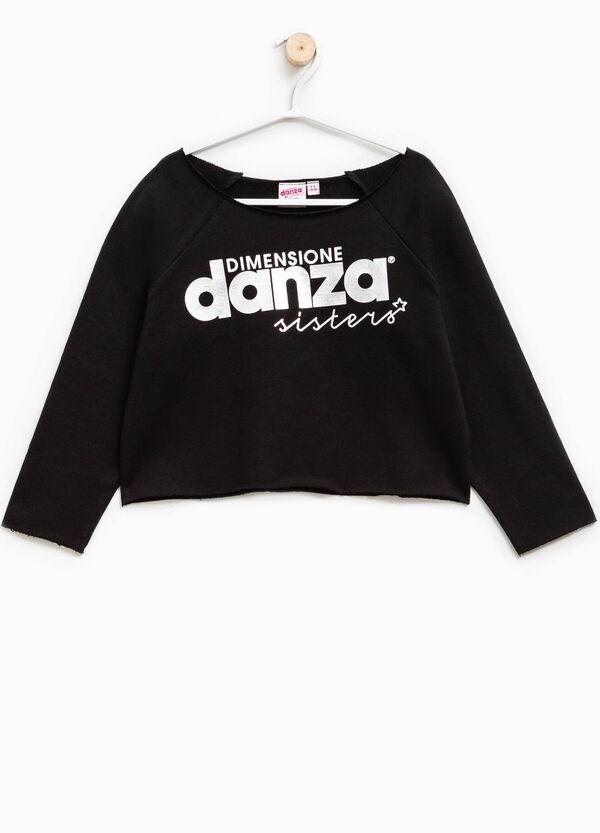 Dimensione Danza sweatshirt with lettering print | OVS