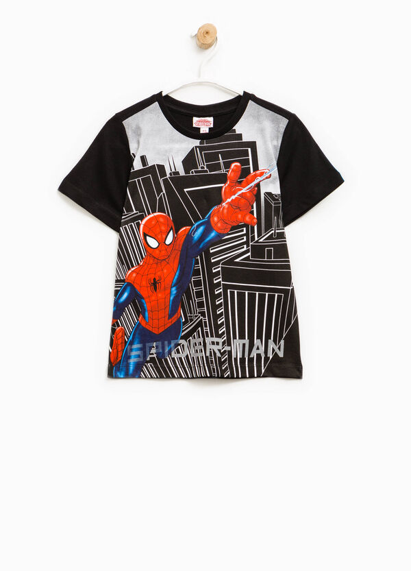 T-shirt in 100% cotton with Spiderman print | OVS