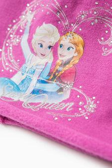 Frozen print beanie cap, Fuchsia, hi-res