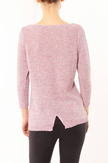 Cotton sweater, Pink, hi-res