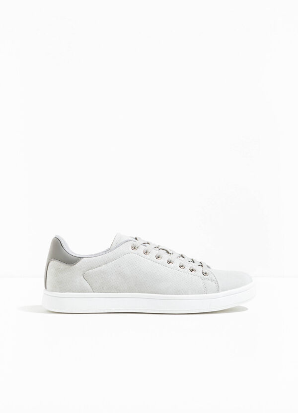 Openwork sneakers with contrasting back | OVS