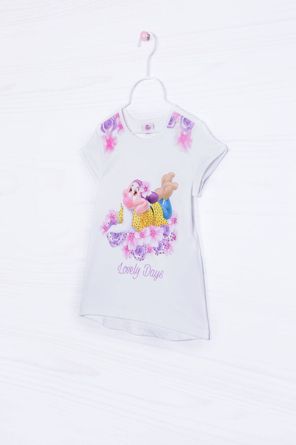 T-shirt stampa Disney cotone stretch | OVS