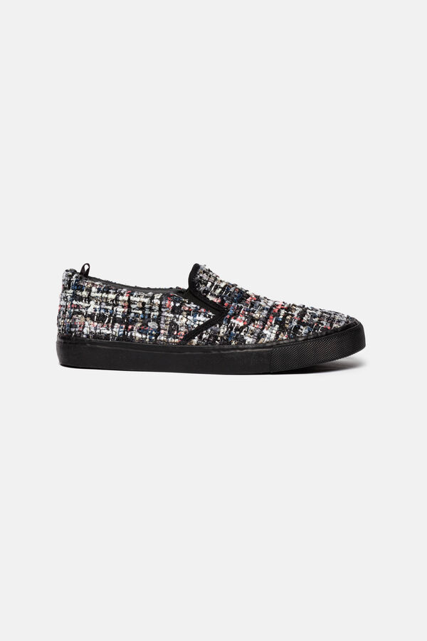 Slip-on canvas sneakers | OVS