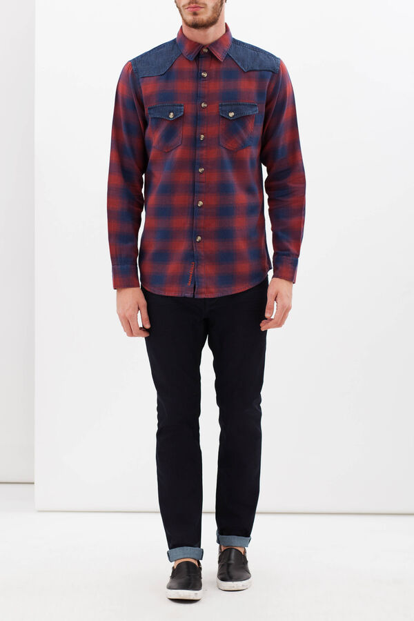 G&H cotton flannel shirt | OVS