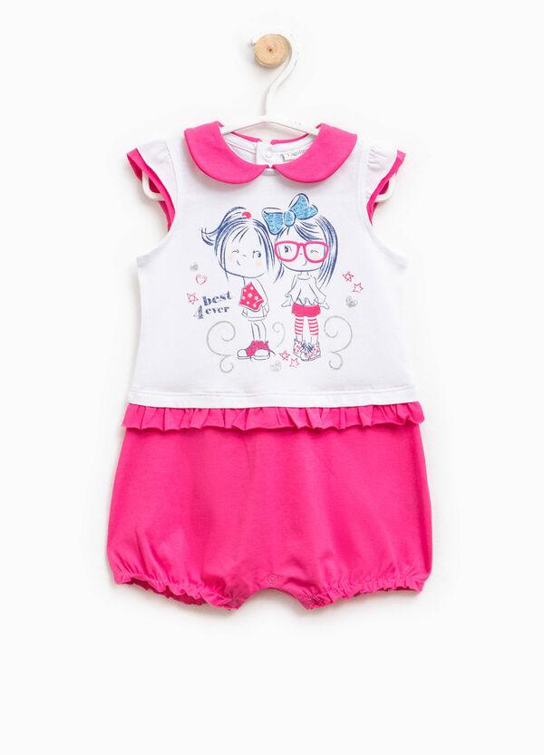 Pelele de pijama bicolor con estampado | OVS