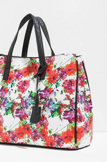Floral pattern handbag