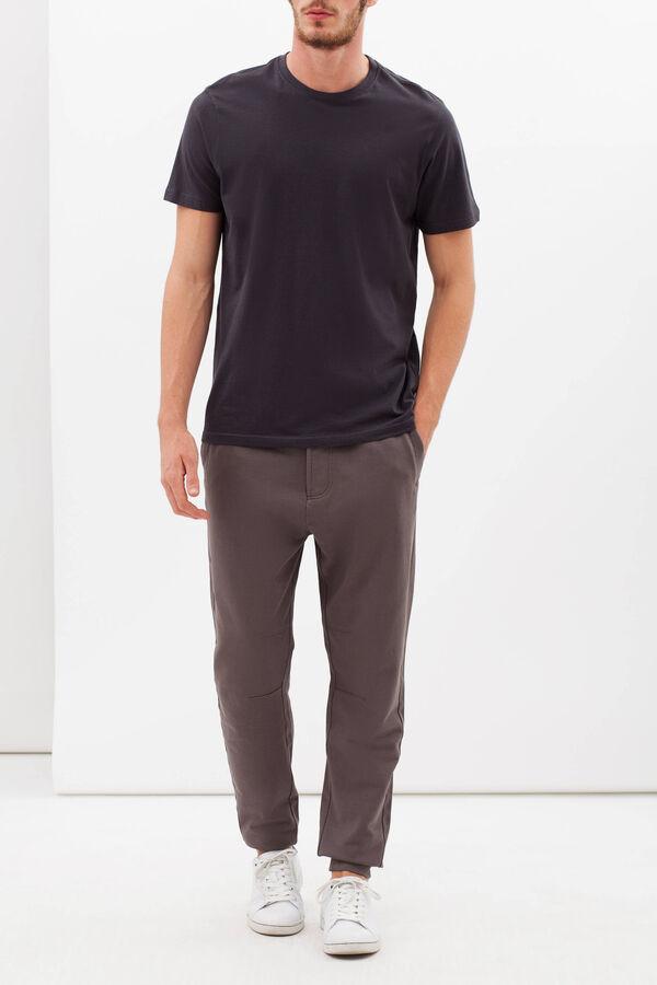Pantaloni in felpa tinta unita   OVS