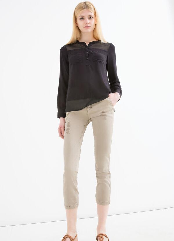 Pantaloni pescatora cotone stretch | OVS