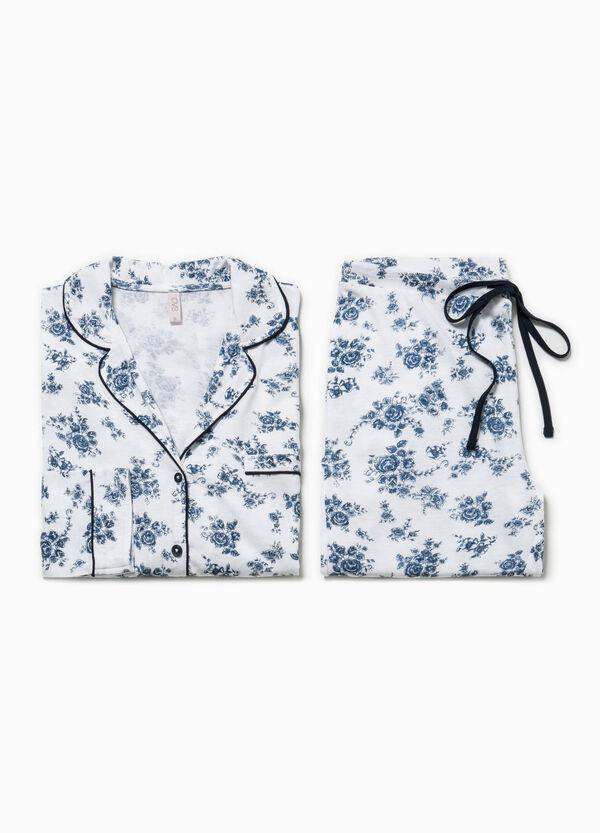 Pyjamas with floral print | OVS