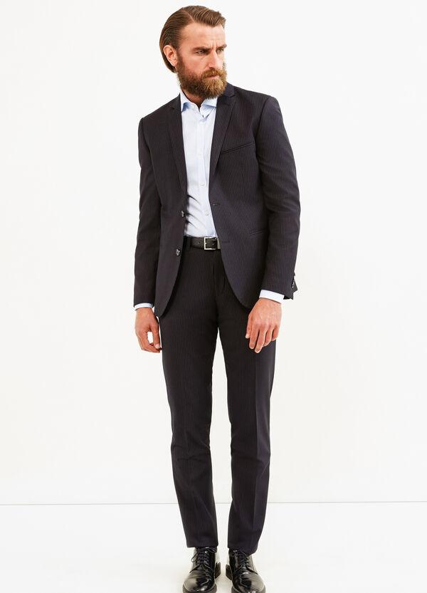 Elegant custom-fit striped suit   OVS