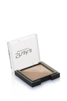 Two-tone eyeshadow., Mud Brown, hi-res