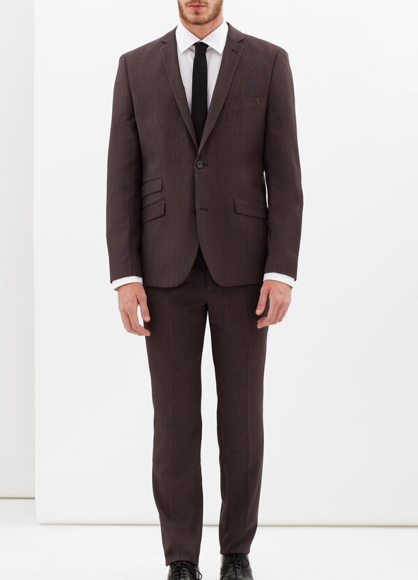 Elegant suit with extra-slim custom fit | OVS