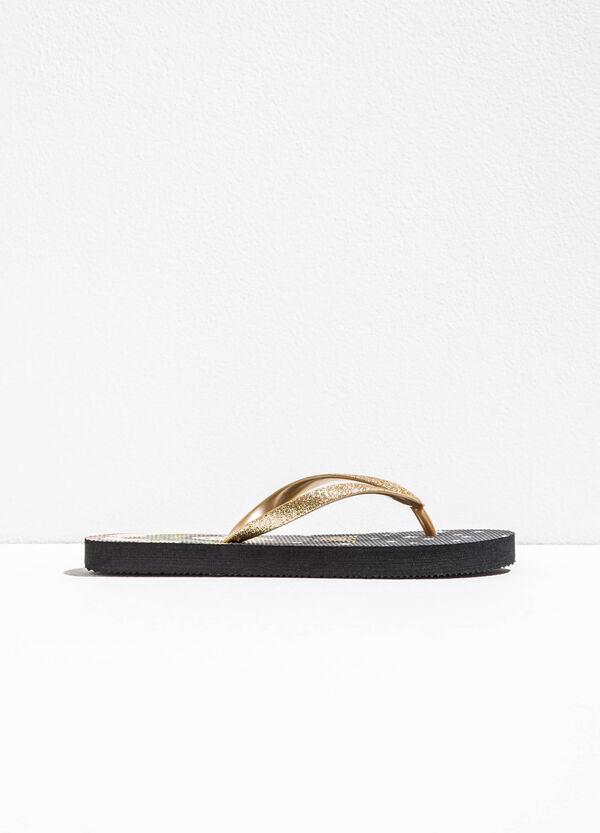 Flip flops with Wonder Woman pattern | OVS