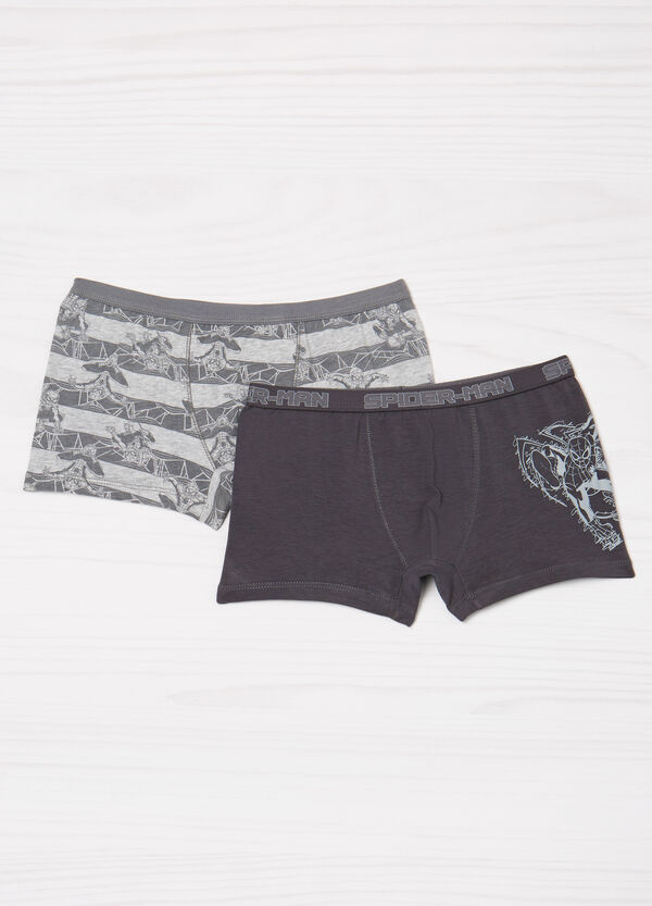 Two-pack stretch Spiderman boxer shorts | OVS