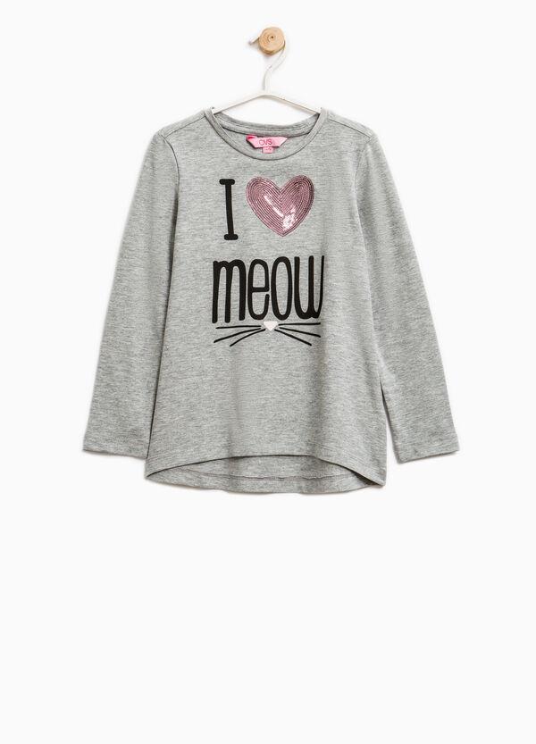 Camiseta elástica con mangas largas | OVS