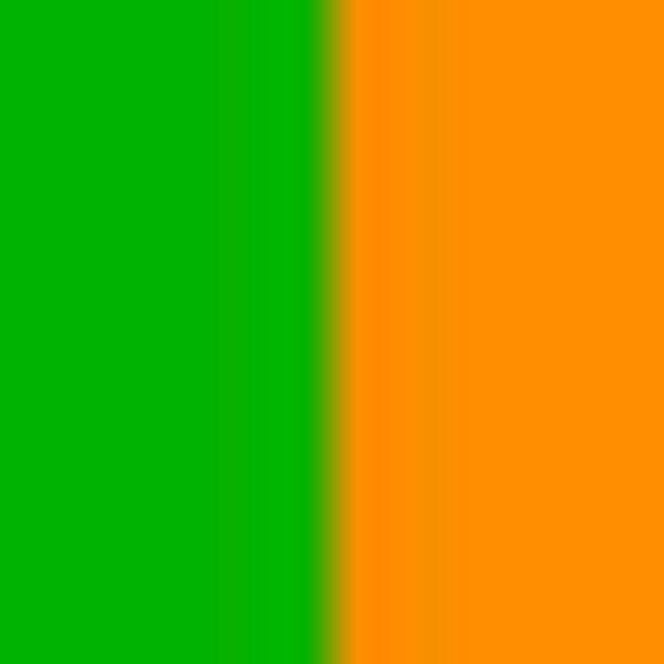 Completino stretch stampato, Verde/Arancione, swatch