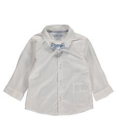 Jungen Baby-Hemd Slim Fit Langarm