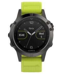 """GPS-Multifunktionsuhr """"fenix 5"""" grau/gelb"""