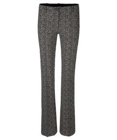 Damen Flat-Front-Hose Slim Fit
