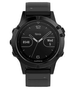 """GPS-Multifunktionsuhr """"fēnix 5 Saphir"""" schwarz/schwarz"""