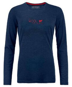 """Damen Funktionsshirt """"185 Merino Print World Longsleeve Shirt W"""""""
