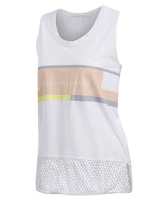 "Damen Trainings-Tanktop ""Essentials Logo Graphic Tanktop"" Ärmellos"