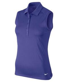 "Damen Golfshirt / Poloshirt ""Victory Solid Polo S/L"" ärmellos"