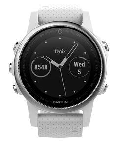 """GPS-Multifunktionsuhr """"fēnix 5S"""" silber/weiß"""
