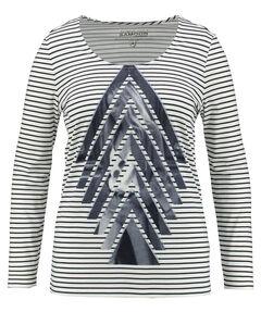 Damen Shirt Langarm - Plus Size