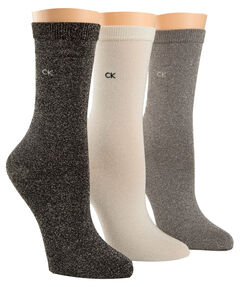 "Damen Socken ""Courtney Holiday Sparkle Crew"" 3er Pack"