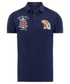 Herren Poloshirt Custom Fit Kurzarm