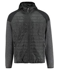 "Herren Fleecejacke ""Man Fix Hood Hybrid Jacket"""