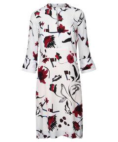 "Damen Blusenkleid ""Floral Abstraction"""
