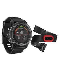 """Herren GPS Uhr / Multisportuhr inkl. Herzfrequenzgurt """"Fenix 3 HR Saphir Grau Performer Bundle"""""""