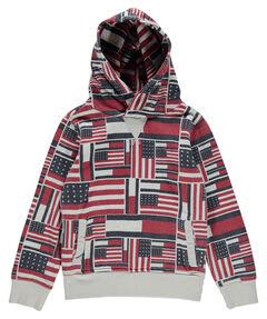 "Jungen Sweatshirt ""Aop Flag Print Hd Hwk L/s"""