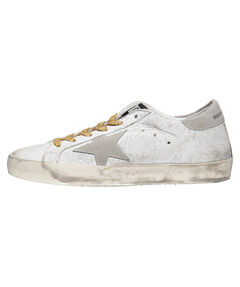 "Damen Sneakers ""Superstar White Crash Leather"""