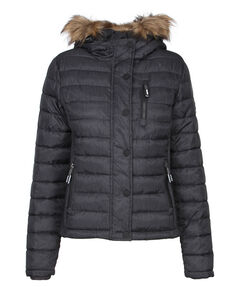 "Damen Steppjacke ""Fuji Slim Double Zip Hood"""