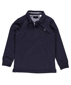 """Jungen Poloshirt """"O. Solid Heavy Rugger Ls Hemdkragen"""" Langarm"""