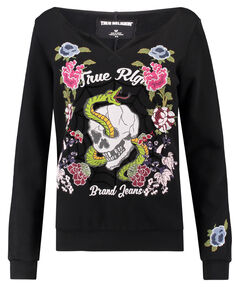 "Damen Sweatshirt ""Crew Sweat Flower"""